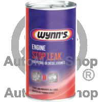 Līdzeklis Dzinēja Eļļas Noplūdes Novēršanai. Engine Oil Stop Leak Wynns 325ml