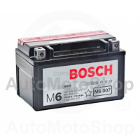 Motorcycle battery 12V 6Ah 105A M6 AGM 150x87x93 BOSCH
