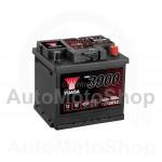 Auto akumulators 12V 52Ah 450A 175x190x207 YUASA YBX3012