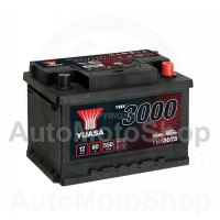 Auto akumulators 12V 60Ah 550A 175x175x245 YUASA YBX3075