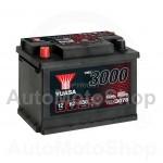 Auto akumulators 12V 62Ah 550A 175x190x242 YUASA YBX3078