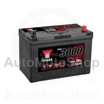Auto akumulators 12V 95Ah 720A 174x225x304 YUASA YBX3335