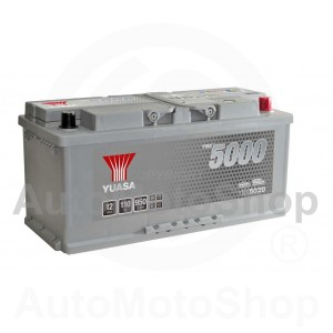 Auto akumulators 12V 110Ah 950A 175x190x394 Silver High Performance SMF YUASA YBX5020