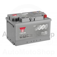 Auto akumulators 12V 75Ah 710A 175x175x278 Silver High Performance SMF YUASA YBX5100