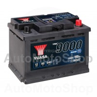 Auto akumulators 12V 60Ah 640A 242x175x190 START-STOP AGM YUASA YBX9027