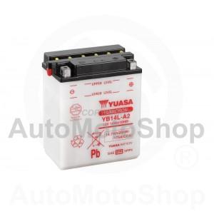 Motorcycle battery 12V 14Ah 190A 136x91x168 YUASA