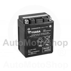 Motorcycle battery 12V 12Ah 210A 134x89x166 YUASA