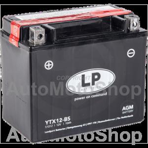 Motocikla akumulators 12V 10Ah 150A AGM 150x87x130 LANDPORT / FULBAT