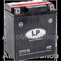 Motocikla akumulators 12V 6Ah 100A AGM 113x70x130 LANDPORT