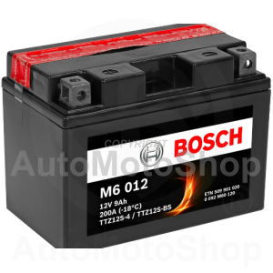 Motocikla akumulators 12V 9Ah 200A AGM 150x87x110 BOSCH