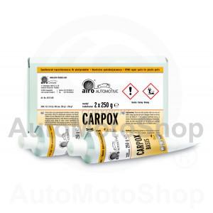Remontlīme Plastmasai (tūbā) 1:1 pelēks 500g airo-CHEMIE (Vācija) CARPOX NE 01L00