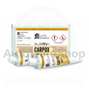 Epoxy repair paste for refinishing plastic 1:1 gray 500g airo-CHEMIE (Vācija) CARPOX NE 01L00